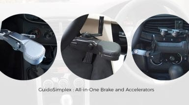 All-in-one-brake-accelerator