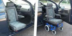 GTRAN swivel seat