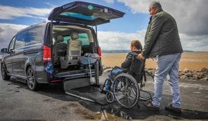 Mercedes V-Class Wheelchair rear access