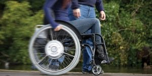 SDMotionAssistPlus for Wheelchair users with impaired strength
