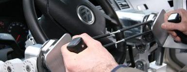 Joysteer Vehicle Hand Steering Controls
