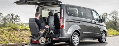 Wheelchair Accessible Ford Tourneo Custom