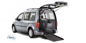 VW Caddy drive from wheelchair crear access